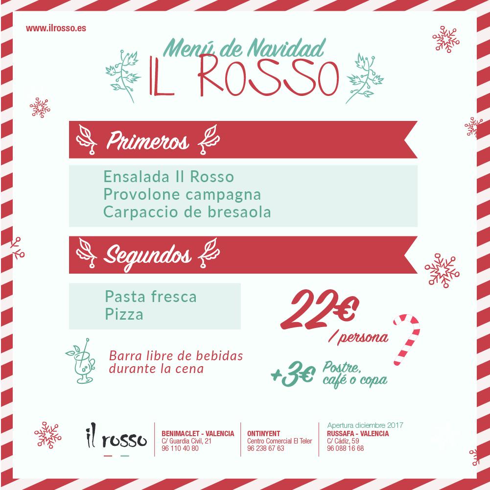Il rosso men navidad03 il rosso for Il rosso bologna menu