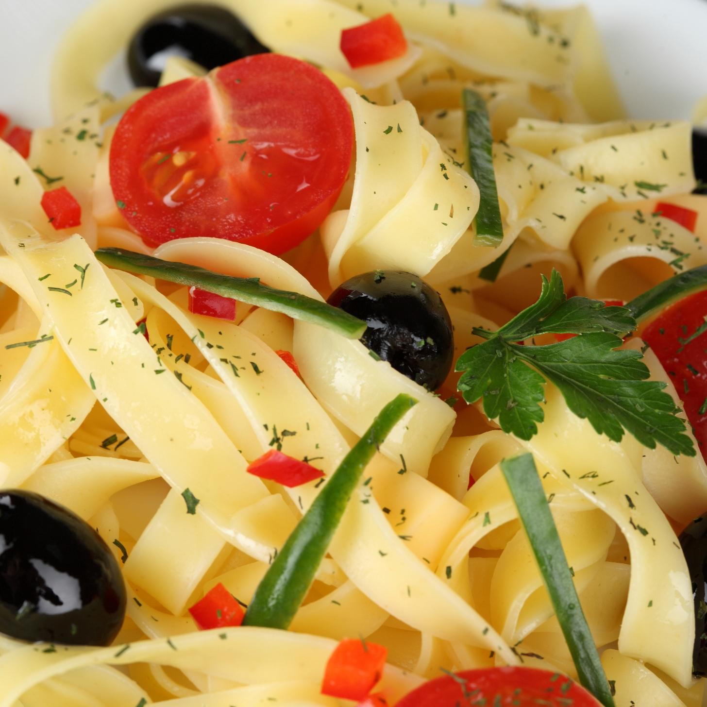 tipos y formatos de pasta italiana