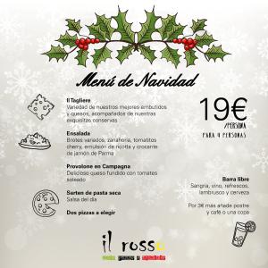 Menu Navidad Il Rosso 19€
