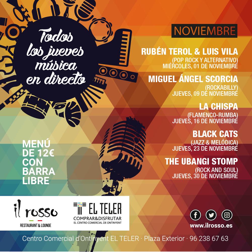 conciertos noviembre